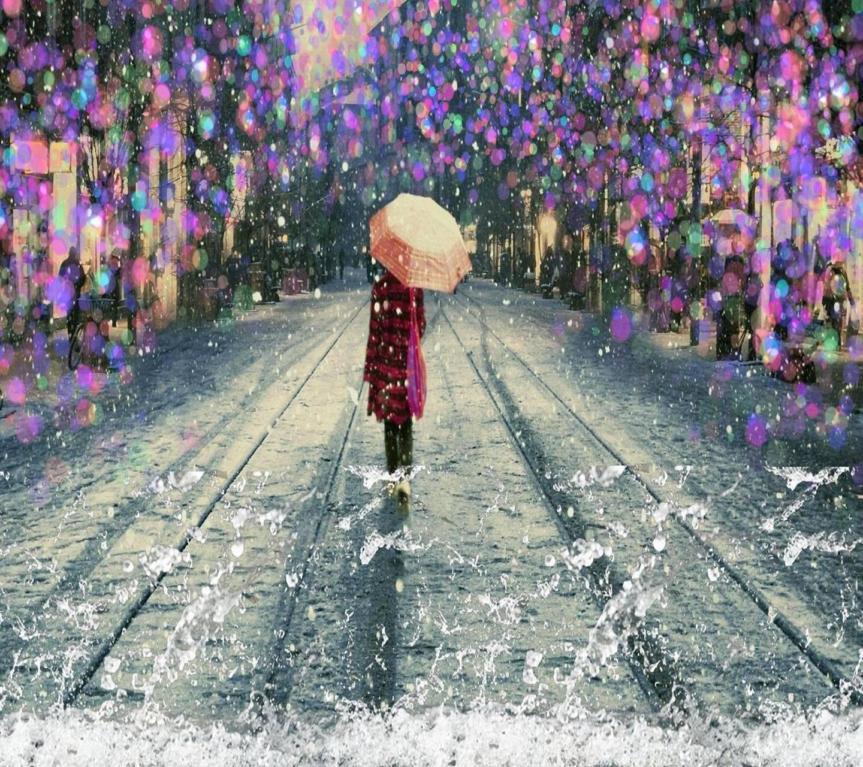 Alone winter