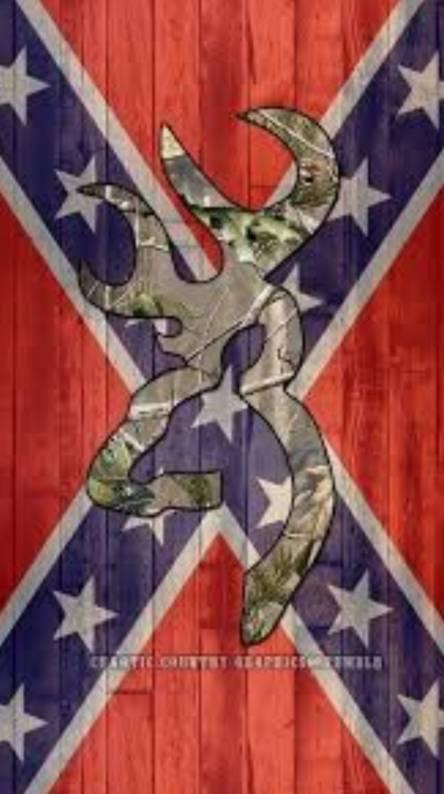 Rebel flag Browning