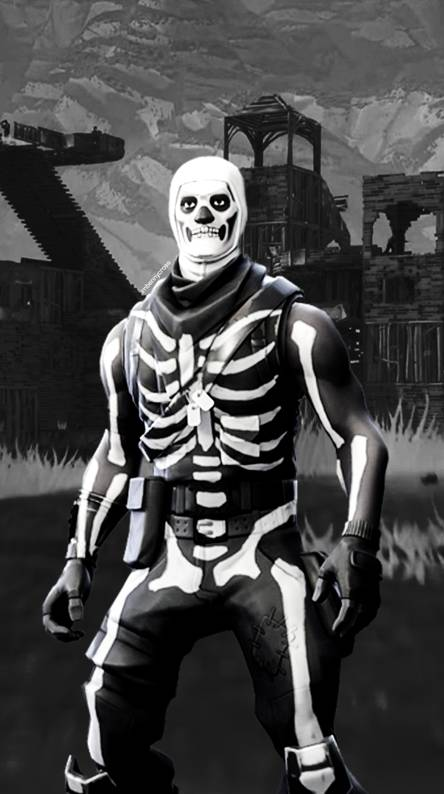Fortnite Skull Trooper Ringtones And Wallpapers Free By Zedge