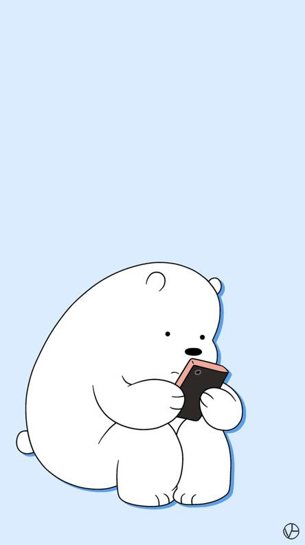 Ice Bear We Bare Bears Iphone Wallpaper Hd Wallpaper Hd For Android