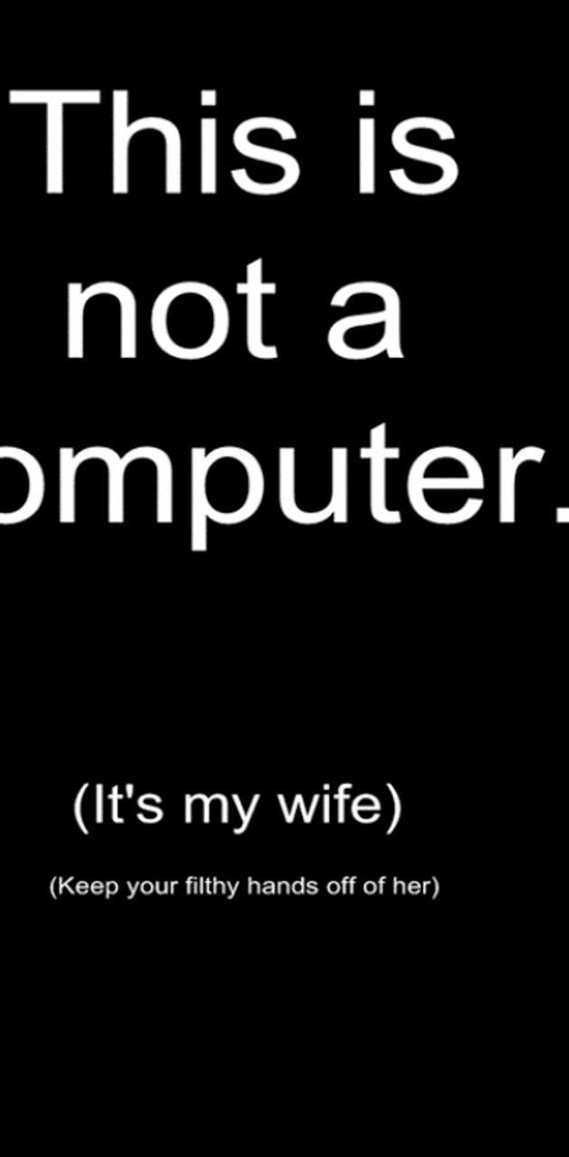 Not a computer