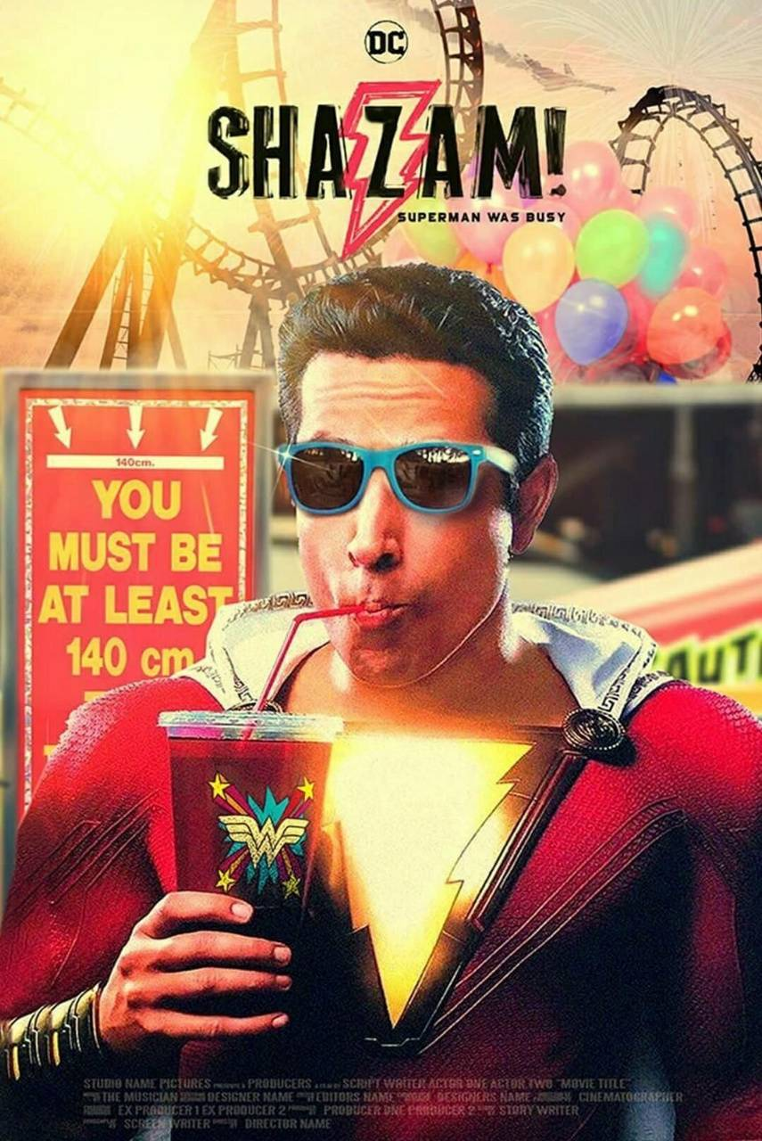 Shazam Fan Poster