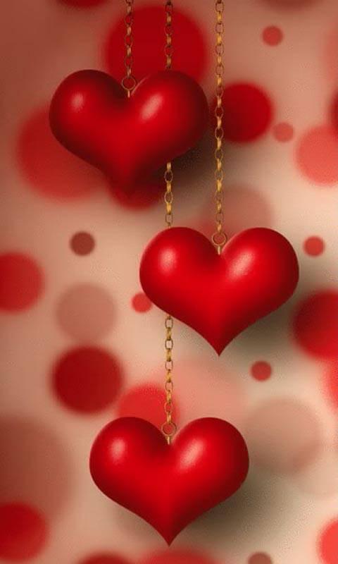 Картинки анимации сердечки на телефоне