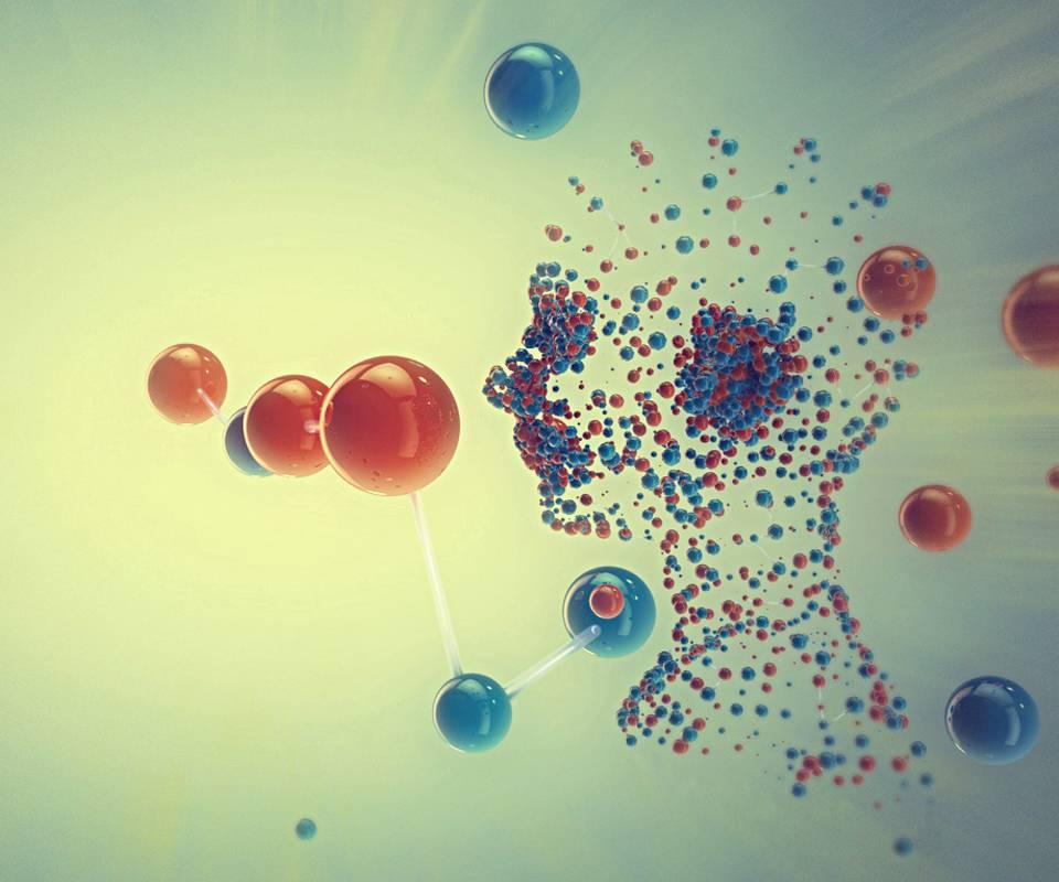 картинки молекул и атомов красивые флюс