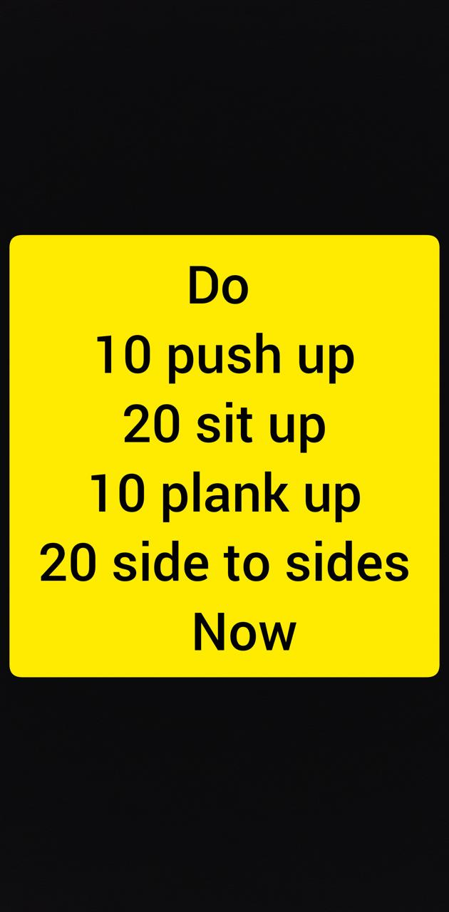 Workout now