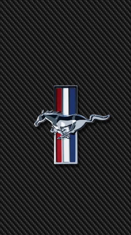 Mustang Logo Wallpaper Iphone Hd