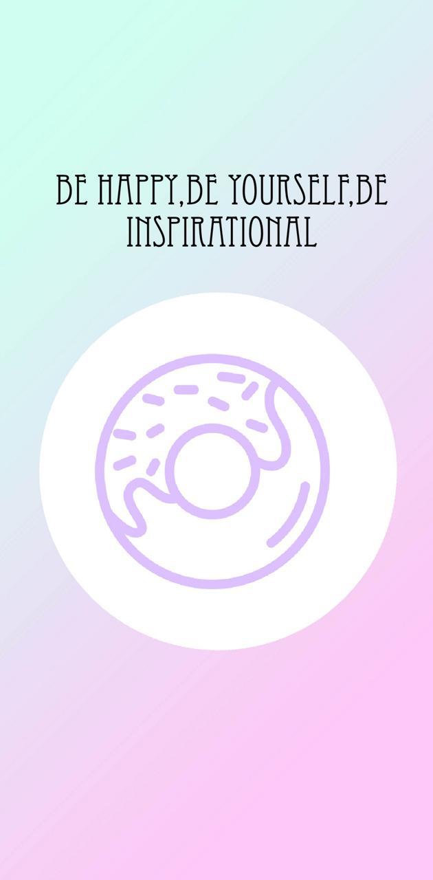 Be happy donut