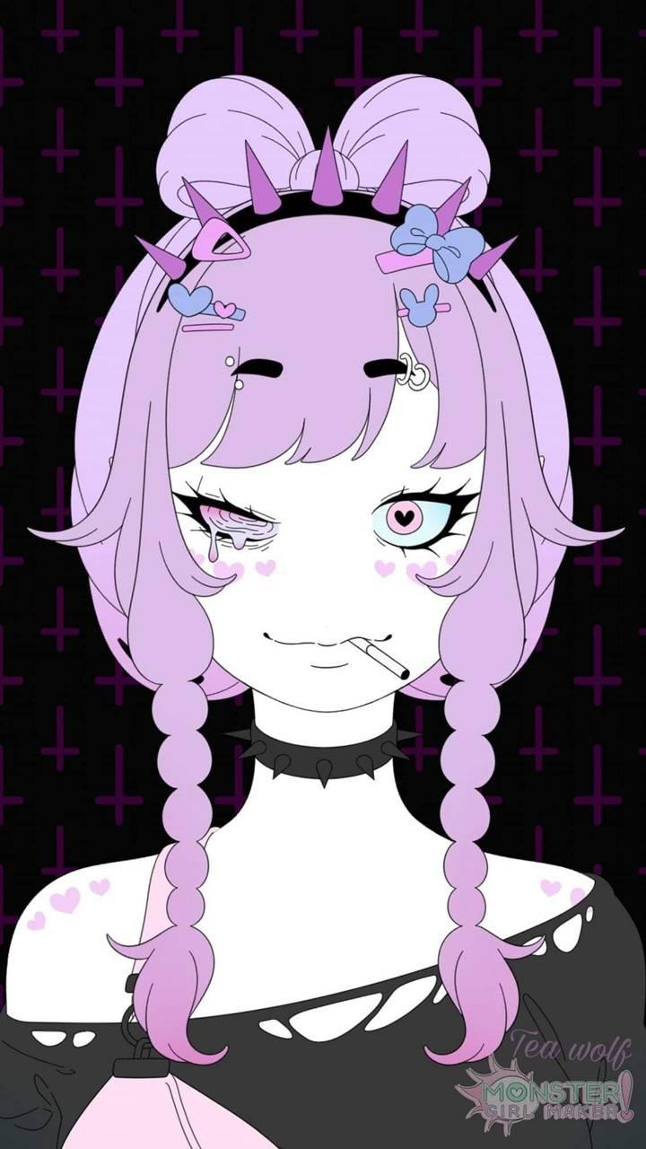 Pastel monster girl