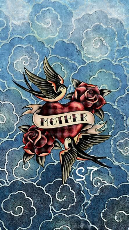 Mother Heart Tattoo