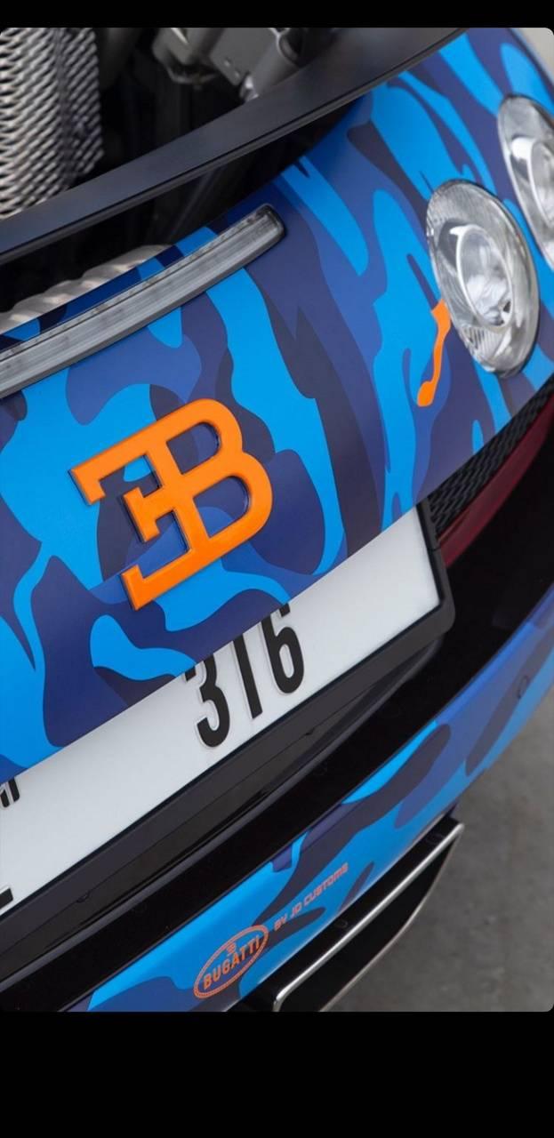 Logo bugatti Veyron