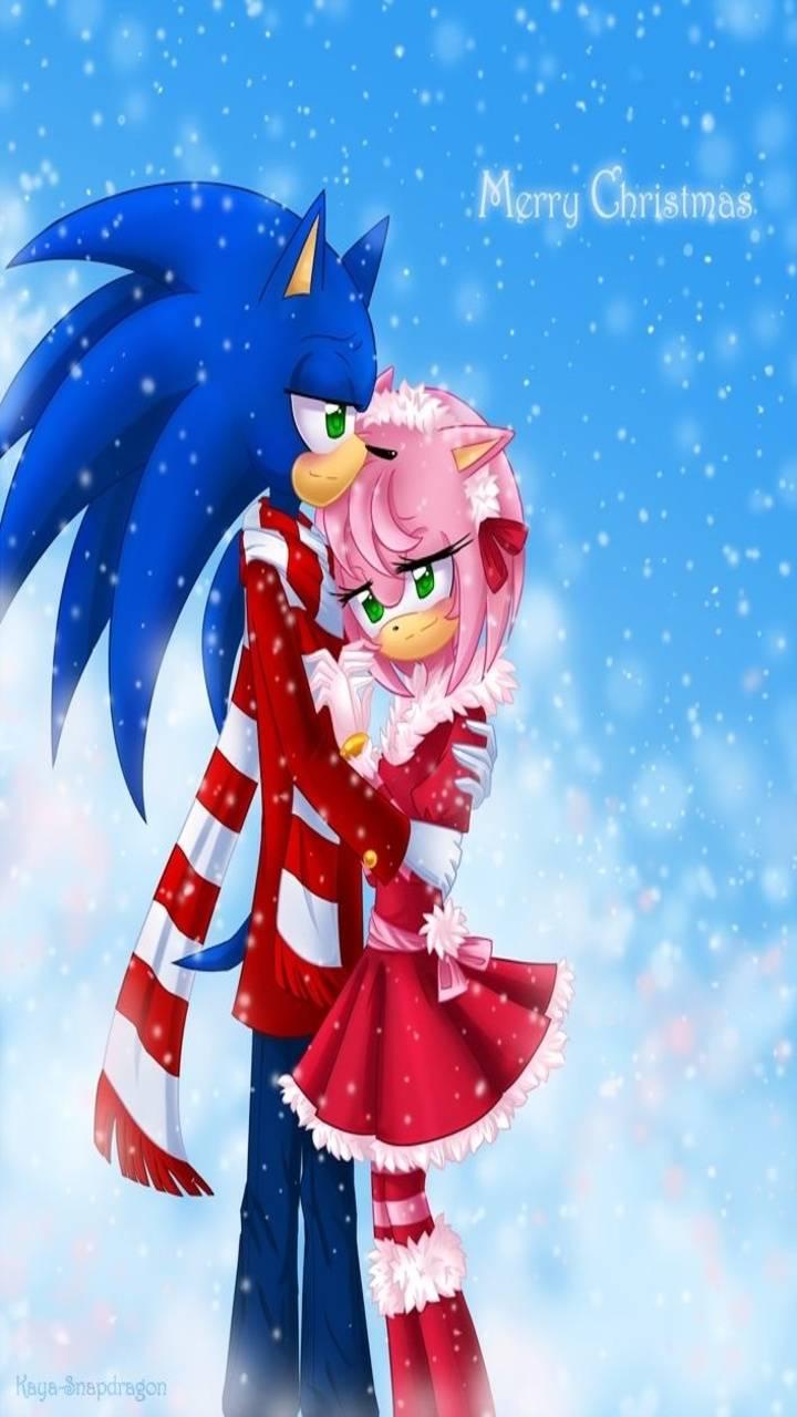SonAmy Christmas Wp