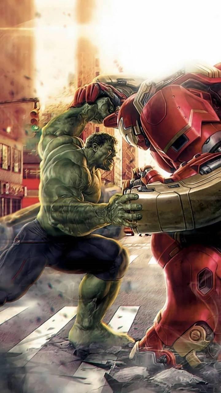 Hulk vs Hulk buster