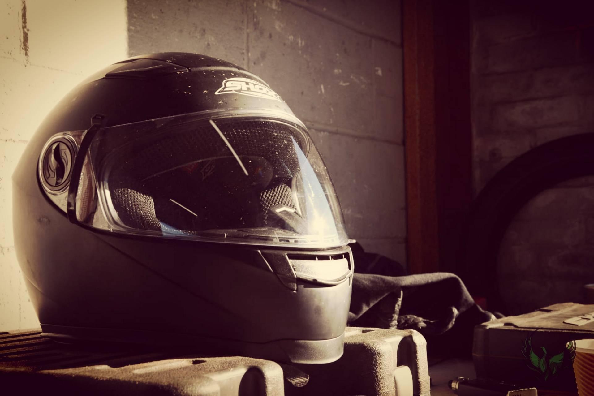 Chris Ganley Helmet