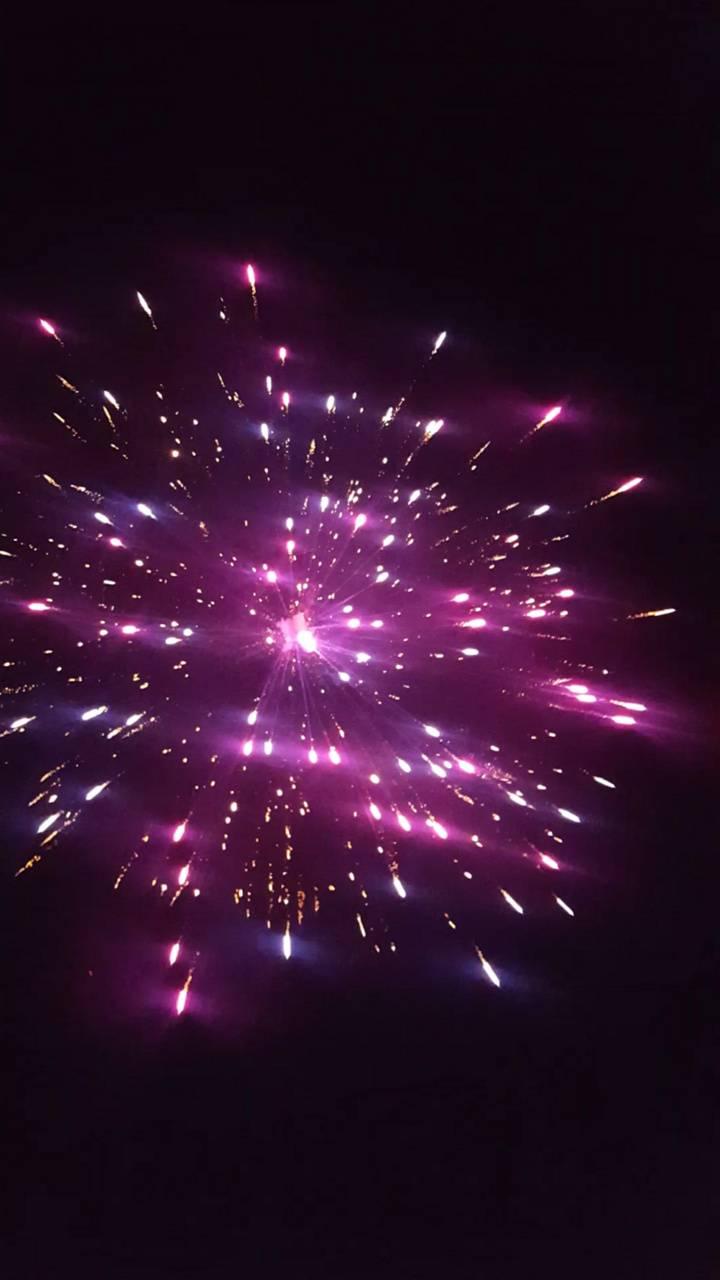 Firework CA Desert