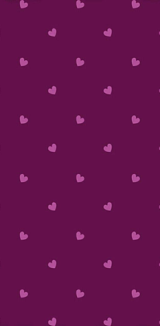 purple polkadot