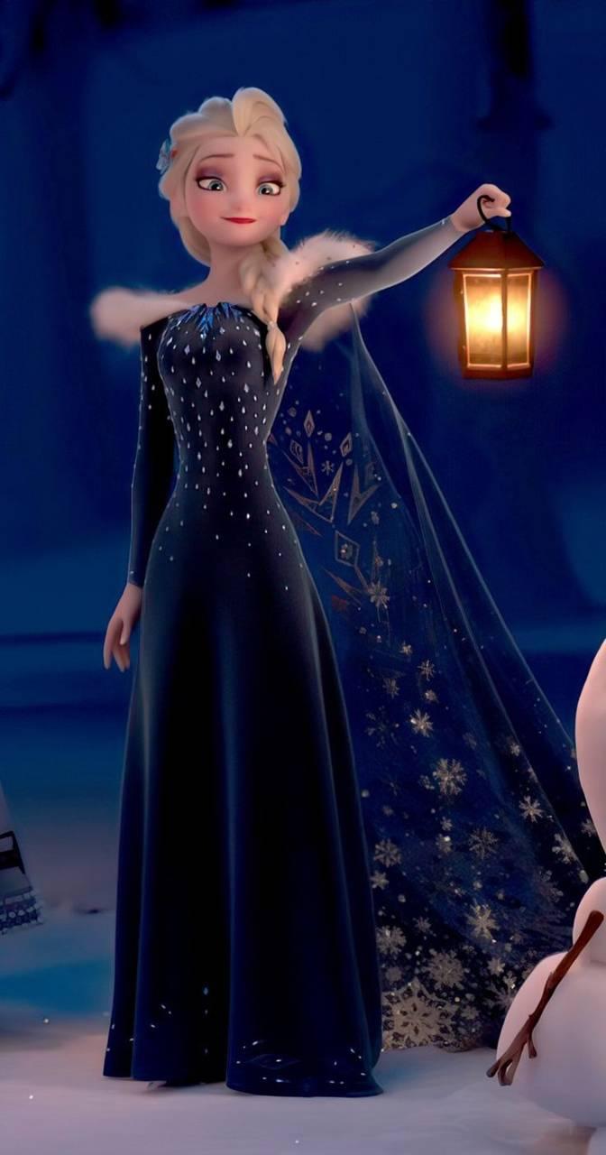 Elsa in Christmas