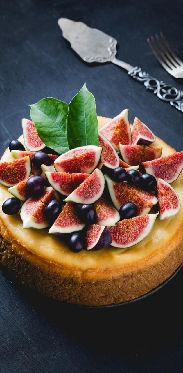 Figs over the cake