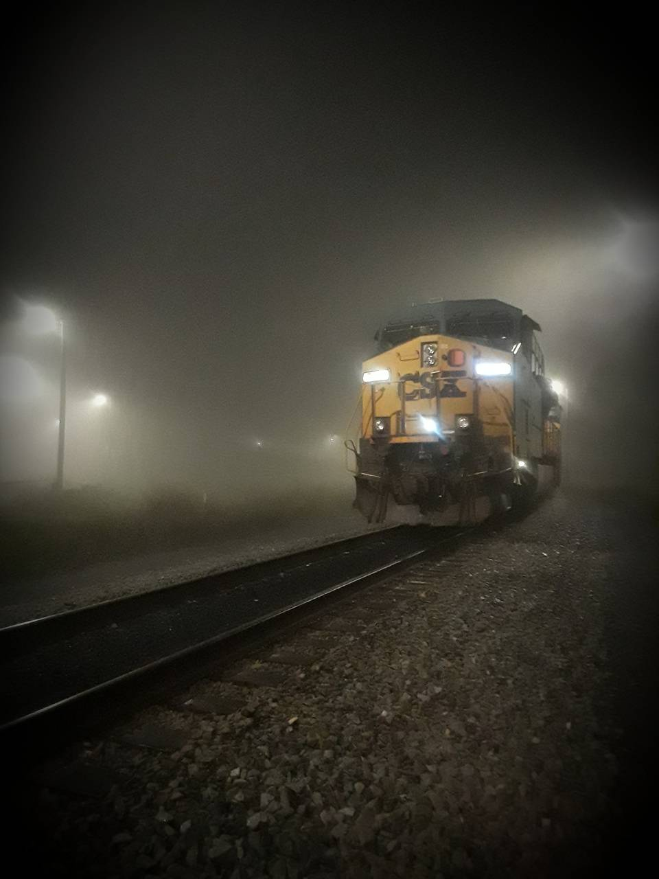Foggy Train