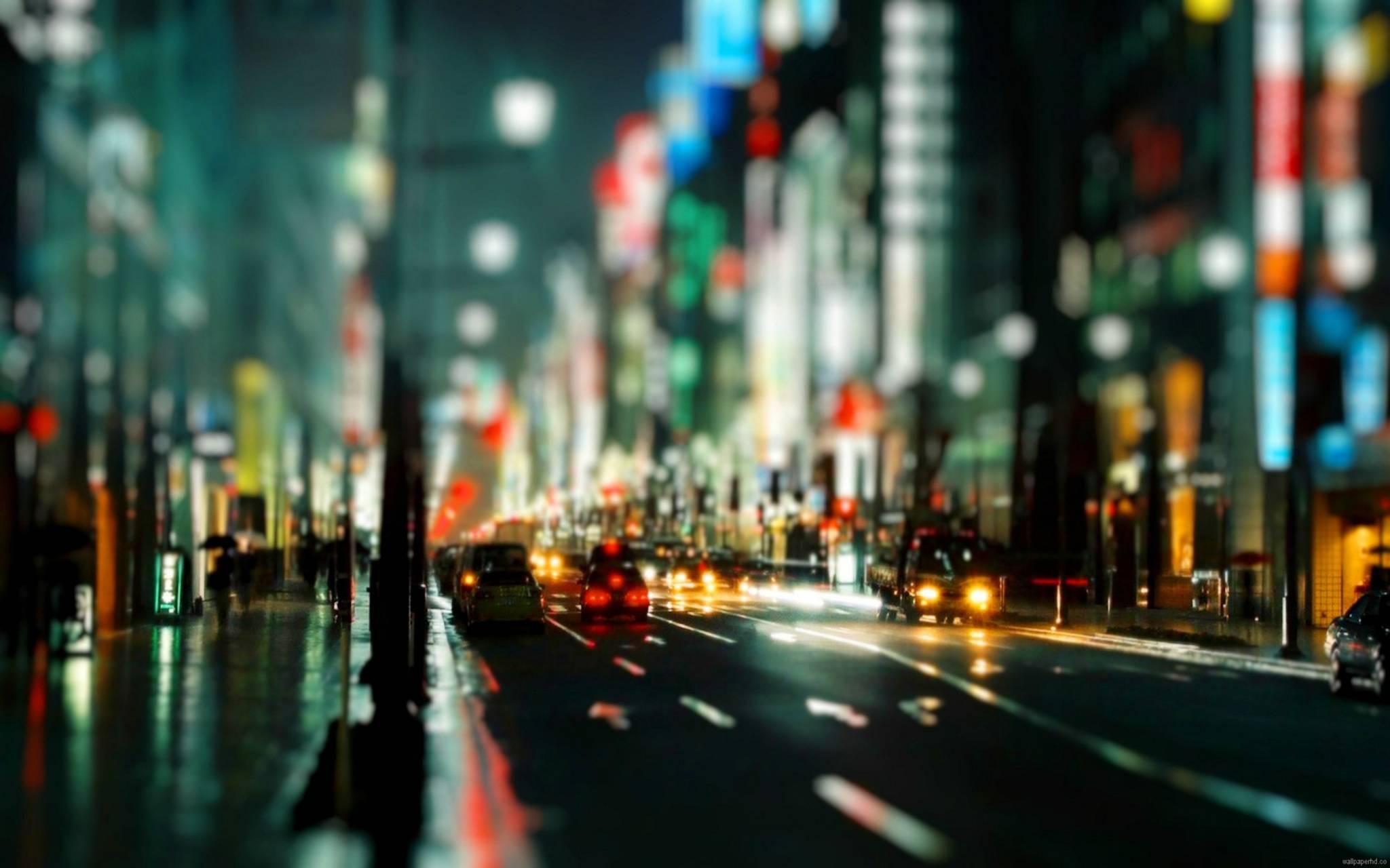 hd night street