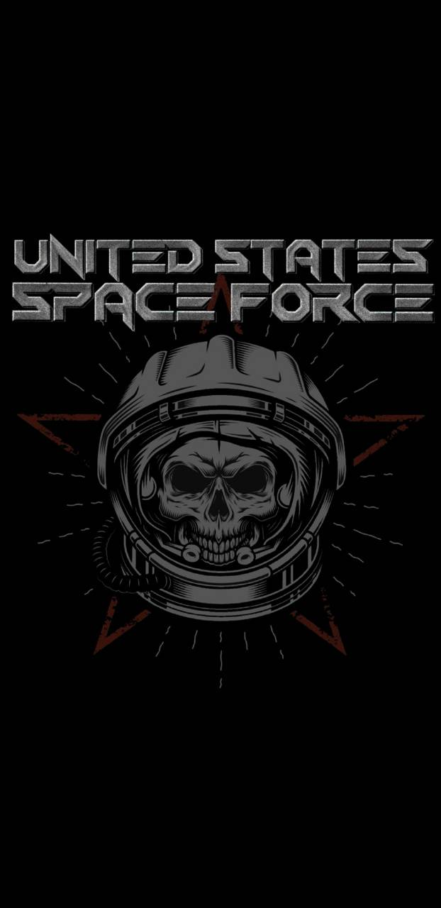 US Space Force Skull