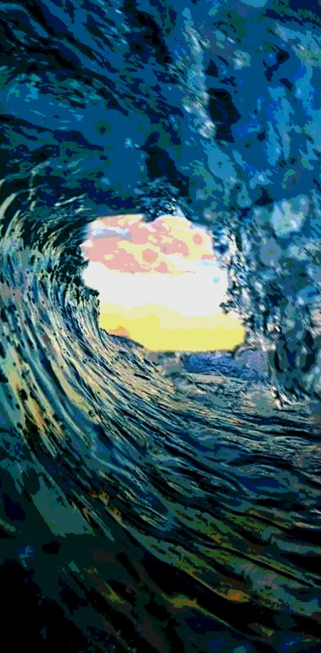 Posterized Wave