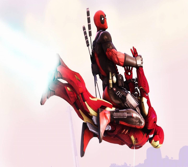 DeadPool x Iron Man