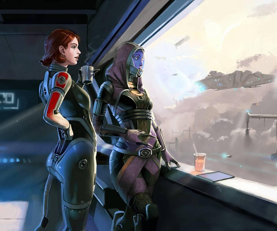 Shepard And Tali