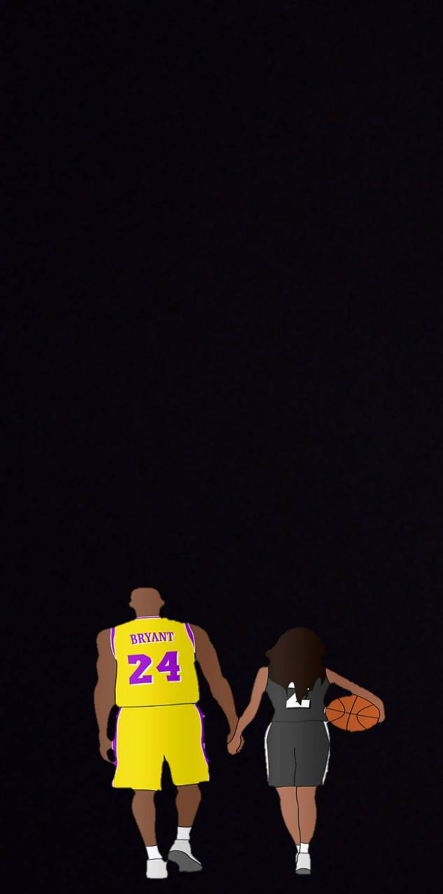 Kobe And Gigi Wallpaper By Luchoagostini98 17 Free On Zedge