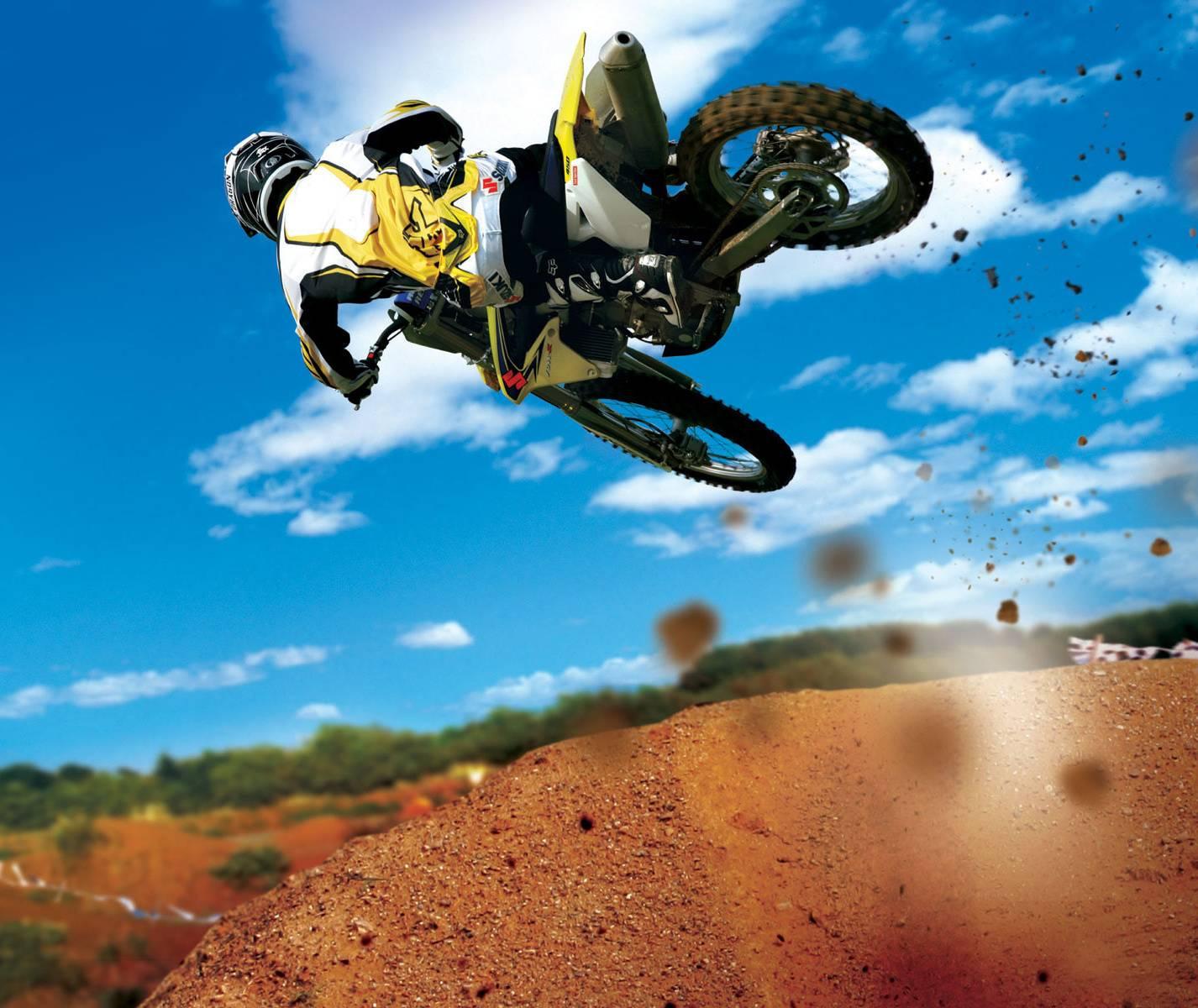 Bike In Air
