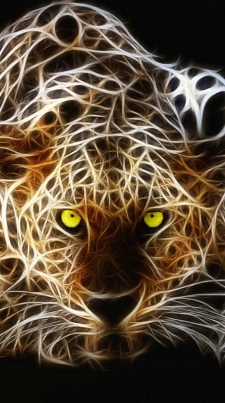 Abstract Tiger Hd