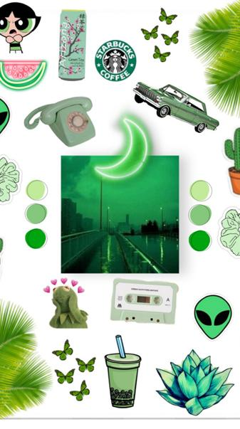 Aesthetic green