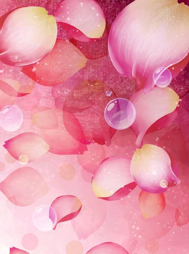 Vector Petals Pink