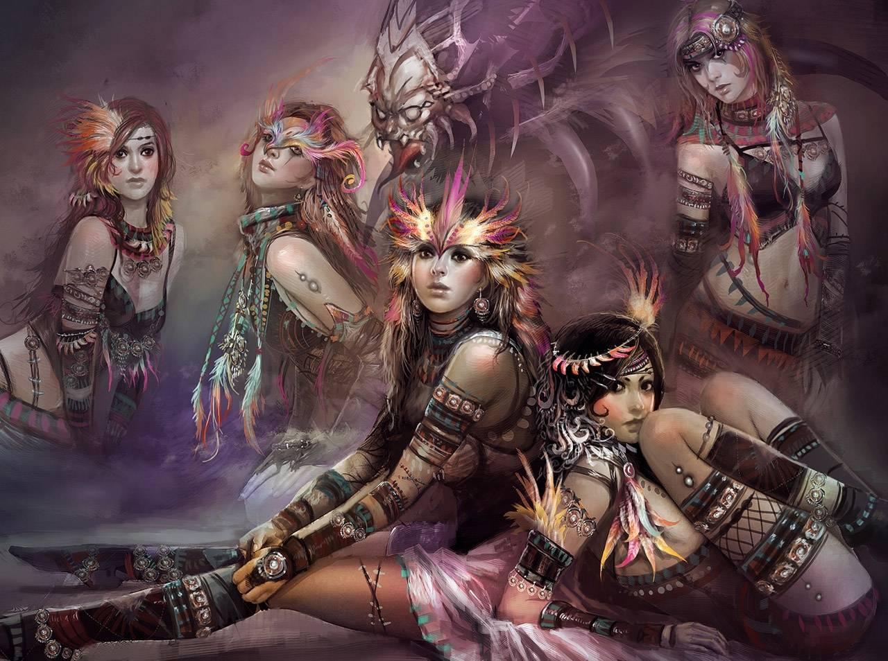 Tribe Girls