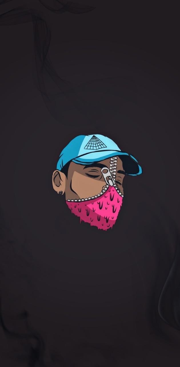 Chris Brown BAPE