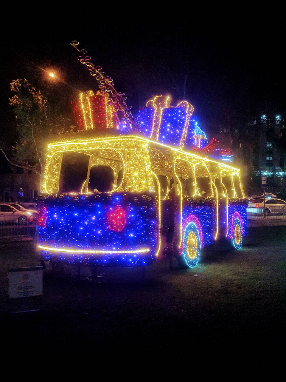 New year bus