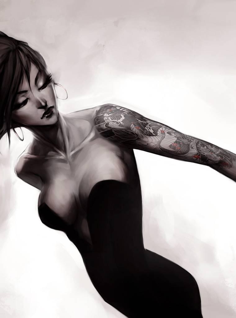 Tatoo Girl