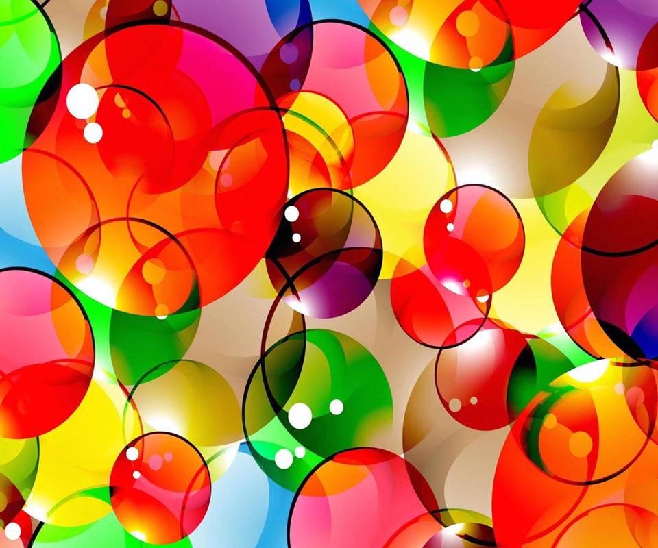 Background bubbles