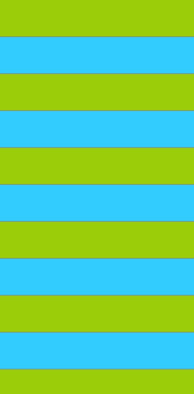 Blue Green Lines