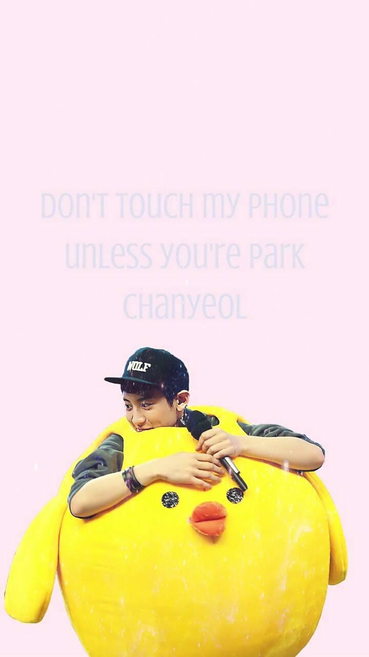 Chanyeol Lock Screen
