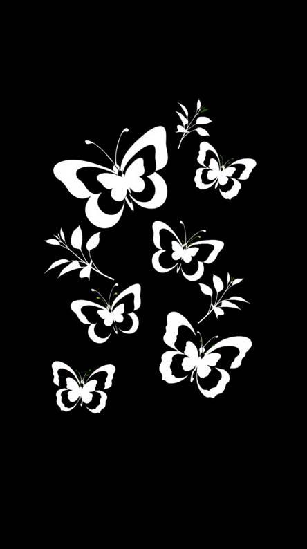 Flowers butterfly 5