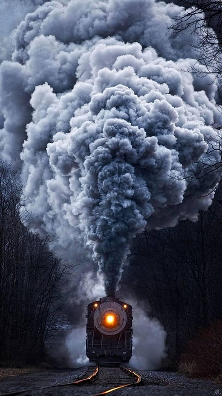 train smoke wallpapertony__stark - 24 - free on zedge™