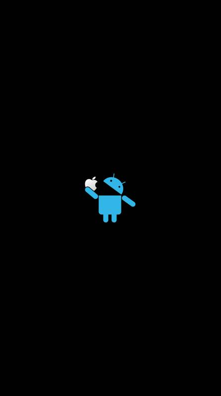 Android Eat Aple