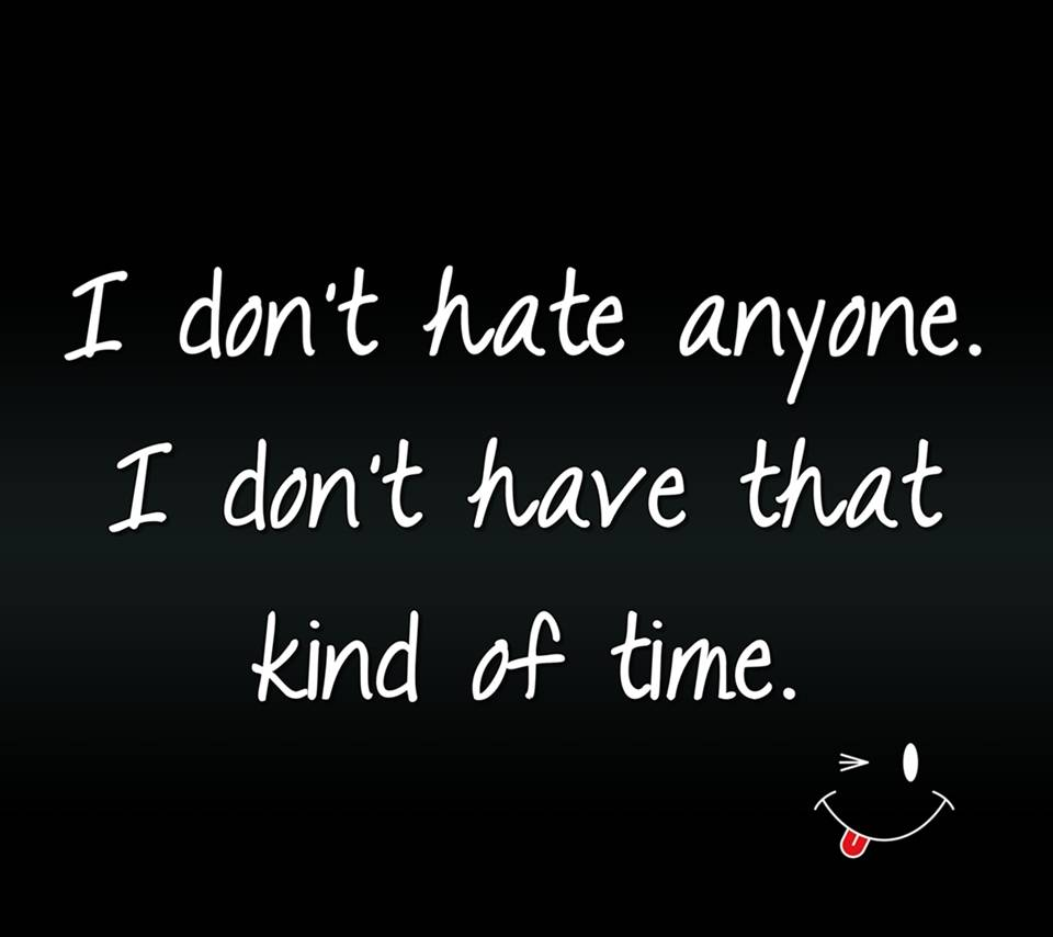 Dont have time