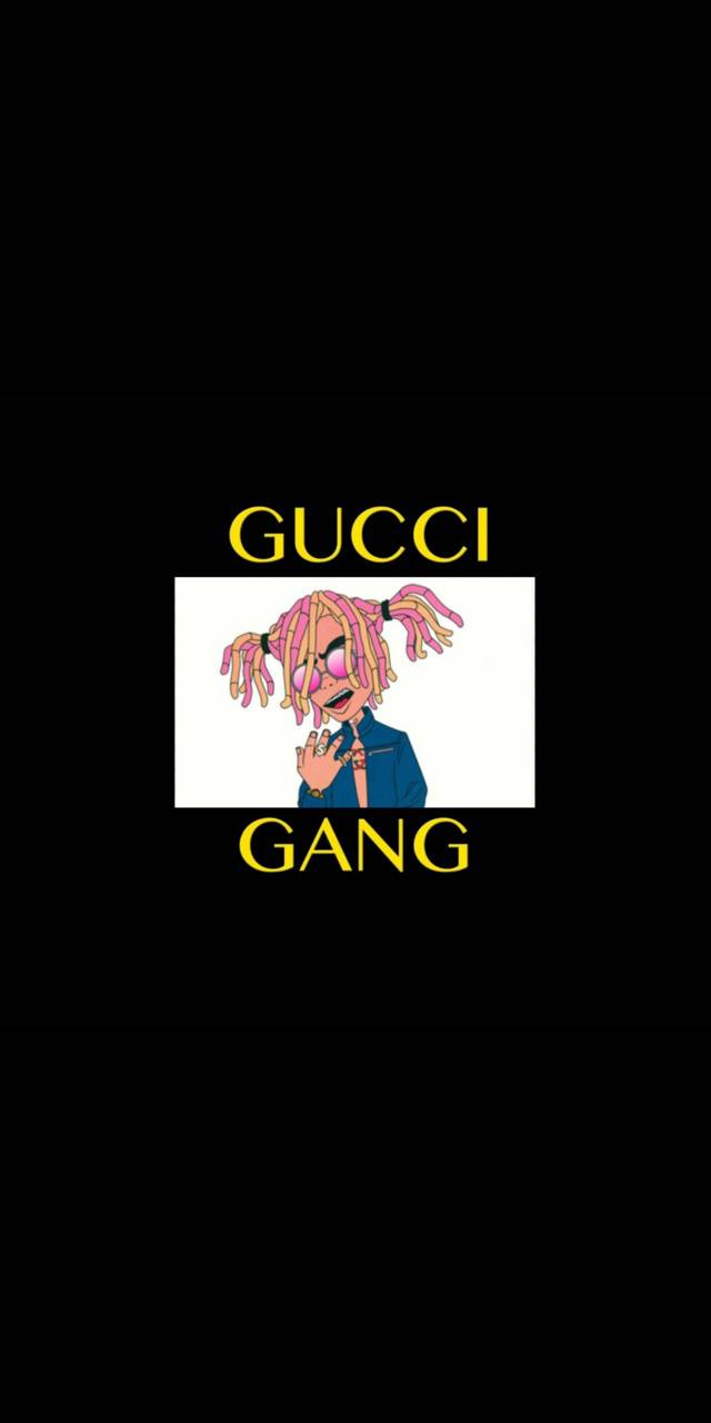 Lil Pump Gucci Gang wallpaper by