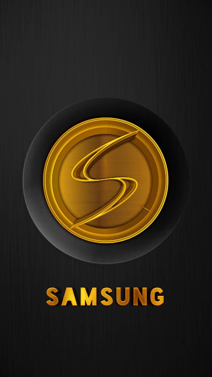 SAMSUNG Gold Black