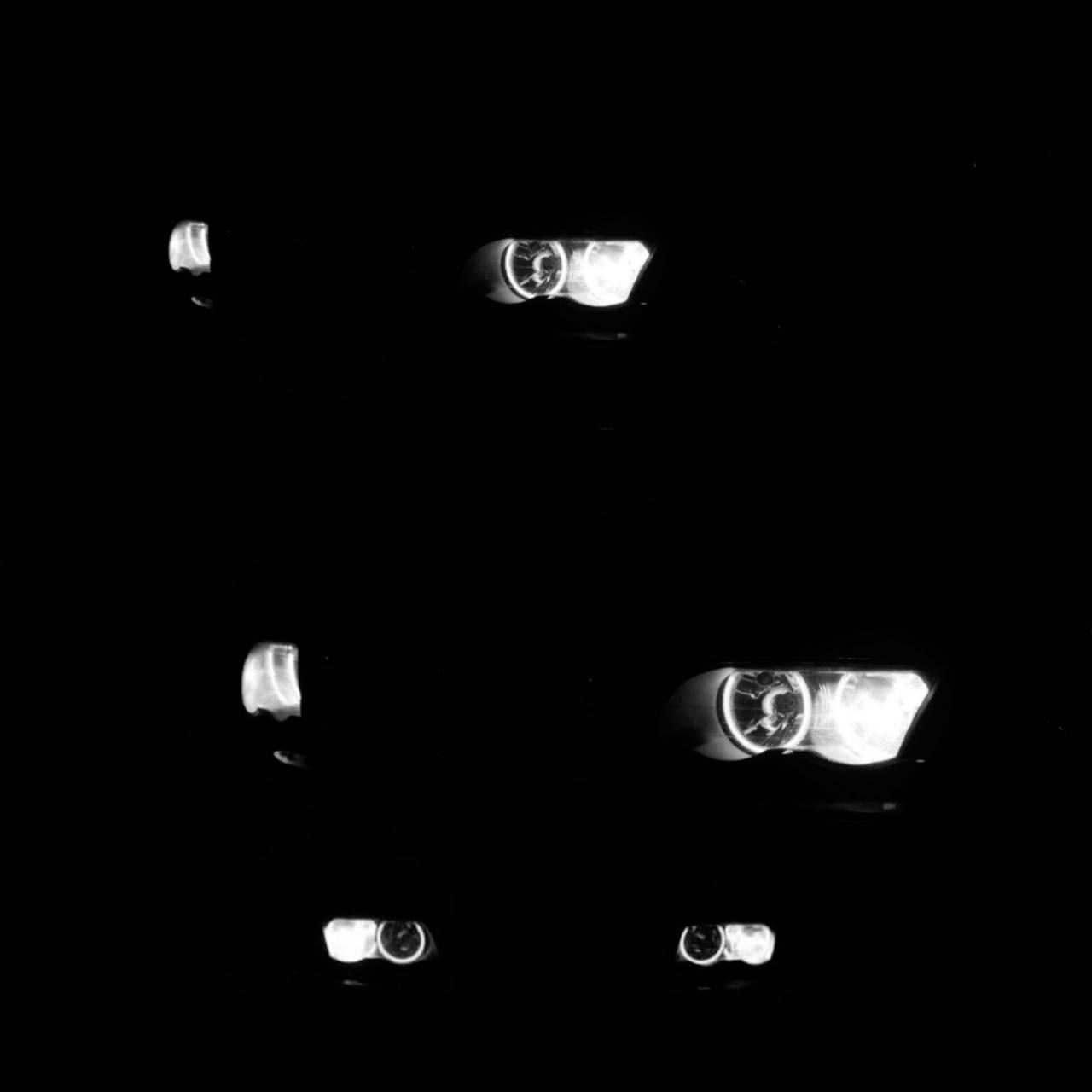 Cats eyes BMW E46