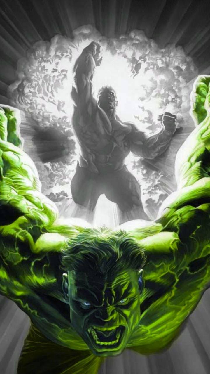 Angry hulk