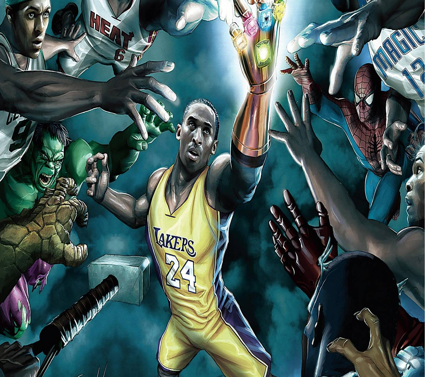 Nba Superheroes