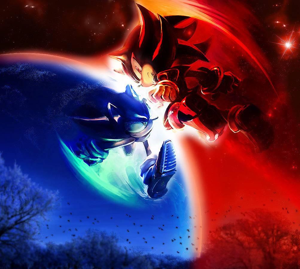 Sonic Vs Shadow Wallpaper By Akron117 52 Free On Zedge