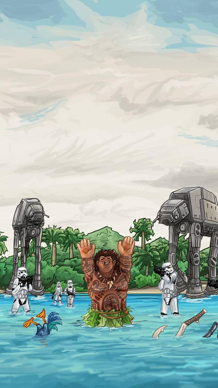 Star Wars And Moana